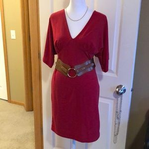ALYN PAIGE NY Casual red dress NWOT